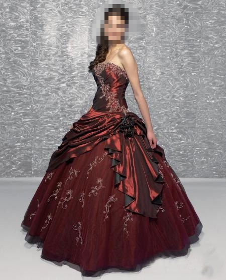 Custom Made- Strapless Sweetheart Sexy Wedding Bride Dress Cocktail Bridesmaid Ball Prom S2