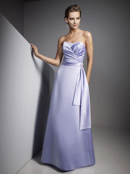 2011 Couture Elegant Purple Sweetheart Formal Evening Dress Prom Bridesmaid Wedding