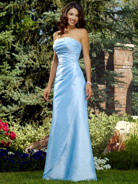Designer Strapless Formal Dress 2011 Evening Dress Prom Bridesmaid Wedding