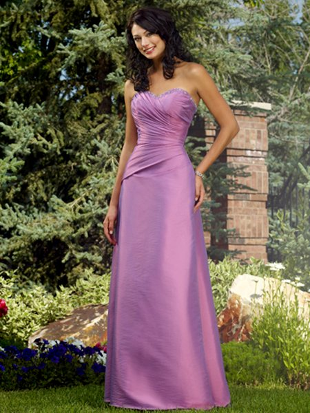 Designer Long Purple Sweetheart Cocktail Dress Evening Dress Prom Bridesmaid Wedding