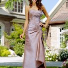 Formal Elegant Grey Sweetheart Pleated Long Evening Dress 2011 Prom Bridesmaid Wedding
