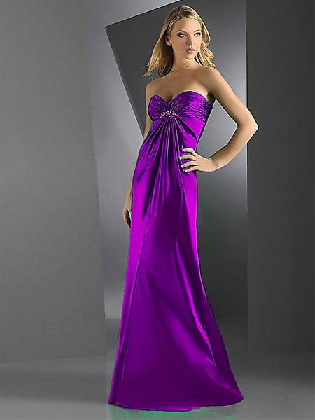 Sexy Elegant Many Colors Strapless Sweetheart Pleated Evening Dress Cocktail Prom Bridesmaid Wedding