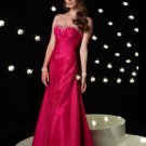 Hot Sale Sexy Strapless Beading Empire Waist Evening Dress Cocktail Prom Bridesmaid Wedding
