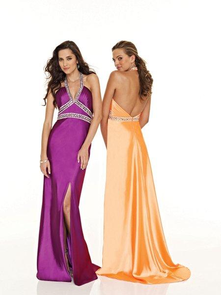 Hot Sale Elegant Halter Beading Opening Evening Dress Cocktail Prom Bridesmaid Wedding
