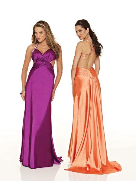 Elegant Rhinestone Empire Waist Ruffles Evening Dress Cocktail Prom Bridesmaid Wedding