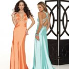 Hot Sale Elegant Tracery V Neck Empire Waist Evening Dress Cocktail Prom Bridesmaid Wedding