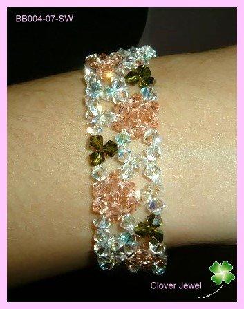 Elegant Rose Bracelet