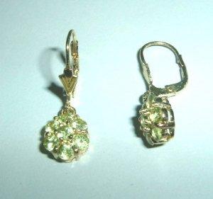 Beautiful Peridot Earrings