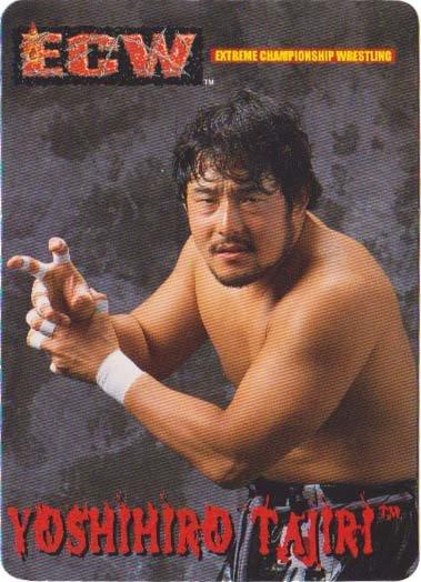 ECW Trading Card - Yoshihiro Tajiri
