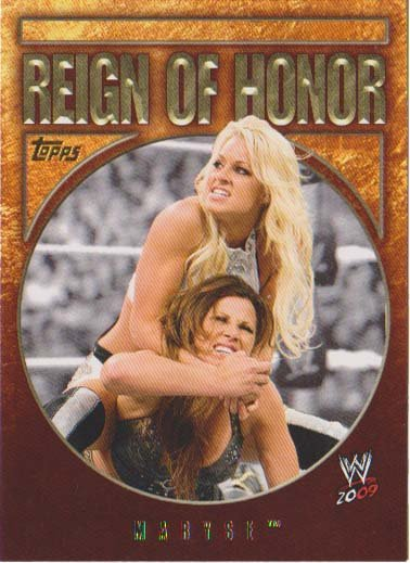 WWE 2009 Reign Of Honor 7 of 10 - Maryse