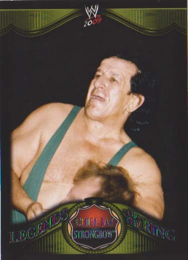 WWE 2009 Legends of the Ring #3 of 20 - Chief Jay Strongbow