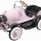 Deluxe All Metal Roadster Pedal Car Pink for Girls