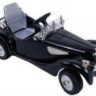 Classic Car 6v Black With Remote Control For Parents Up to 100 ft