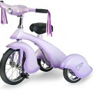 Lavender Retro Tricycle With Working Light Replica of 1934 Van Doren