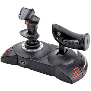 T-Flight Hotas X Joystick for PS3 & PC with Detachable Throttle Control 2960703