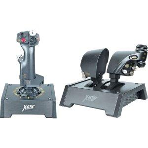 Mad Catz Pro Flight X-65F Combat Control Systemfor For PC SCB440420002/02/1 New