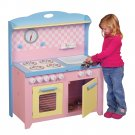 Kids Hideaway Playtime Folding Toy Kitchen Pretend Play By Guidecraft G97272