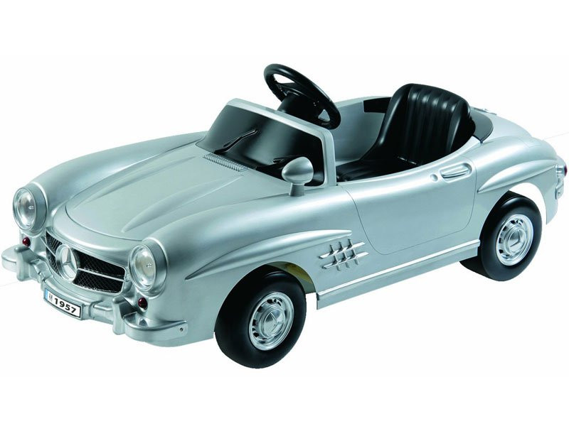 Mercedes Benz 300Sl W198 Kids Ride on Car 6V Battery Operated Riding Toy Silver