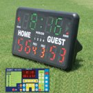 Game Craft Indoor Or Outdoor Tabletop Multisports Electronic Scoreboard With Remote