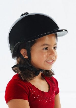 Morgan Cycle Bicycle Helmet Black for age group 3-6yrs old