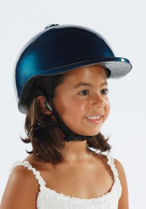 Morgan Cycle Bicycle Helmet Blue for age group 3-6yrs old