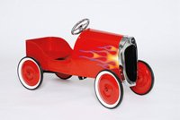 RED HOT ROD PEDAL CAR FOR KIDS OR COLLECTOR 1934 REPLICA
