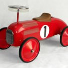 Red Sports Car Ride On Car Toy For Toddlers Scoot Along