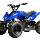 MotoTec 24v Mini Quad Max Rider Weight 100 lbs Top Speed 8 MPH