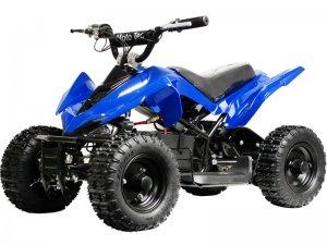 MotoTec 24v Mini Quad Max Rider Weight 100 lbs Top Speed 8 MPH