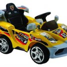 Mini Motos Star Car 6v Yellow Kids Ride on Toy With Parent Remote Control