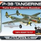 P-38 Tangerine Twin Engine Fighter - RC Airplane RTF RC