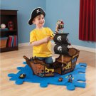 Pirate Ship W Pirates & Accessories Wooden Playset For Kids By KidKraft 63262