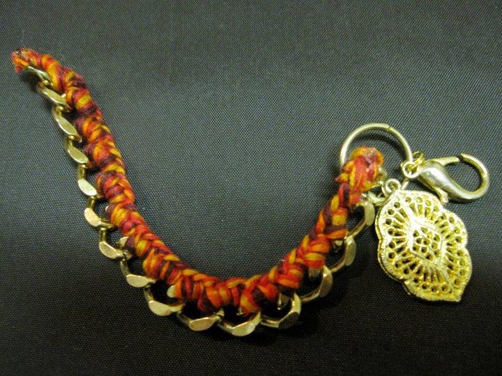 Brass Braid - Bracelet