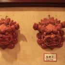 Okinawan Guardian Lion Heads Set (ceramic)
