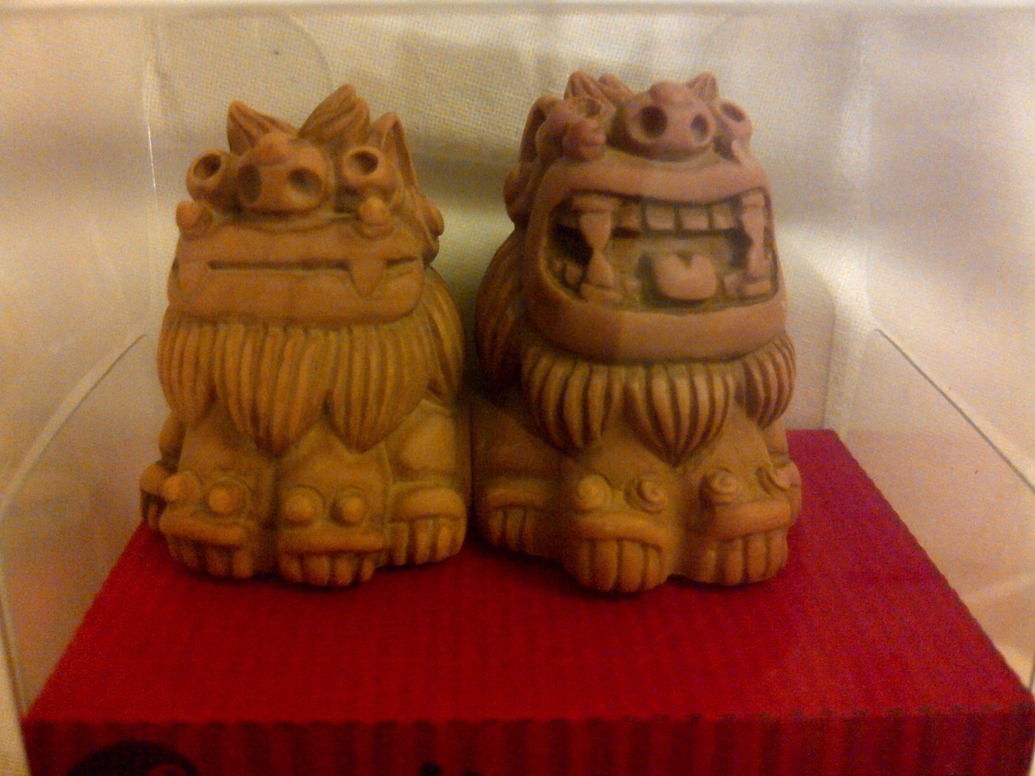 Okinawan Guardian Lion magnets