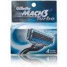 Gillette - Mach 3 Turbo (4 pack)