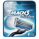 Gillette - Mach 3 Turbo (8 pack)