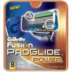 Gillette Fusion ProGlide Power (8 pack)