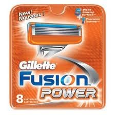 Gillette Fusion Power  (8 pack)