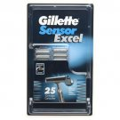 Gillette Sensor Excel  (25 Pack)