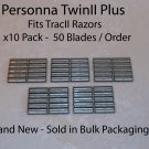 Personna TwinII Plus - 50 Pack