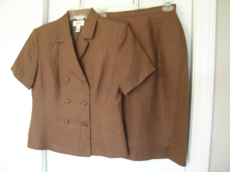 Talbots Petites Ladies Skirt Suit Size 2