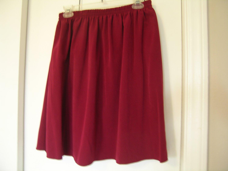 Appleseed's Petite Ladies Skirt Suit Size LP LM