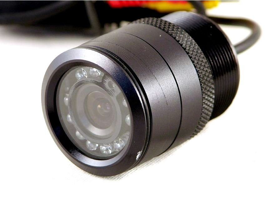 "TVIEW - CCD FlushMount 1 1/8"" Night Vision Car Camera"