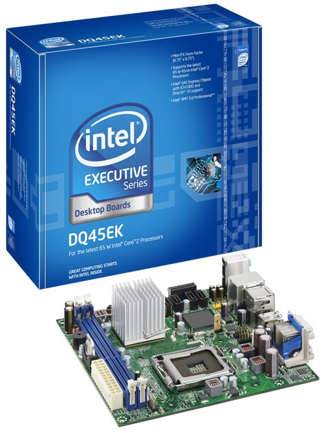 Intel DQ45EK Intel Desktop Board LGA775 Mini-ITX DDR2 800