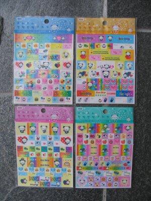 San-x Star Cutie one sticker sheet.