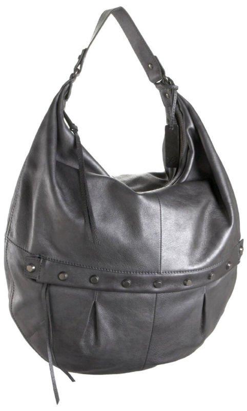 $575 Botkier SOPHIA Leather Hobo -Silver Powder NWT