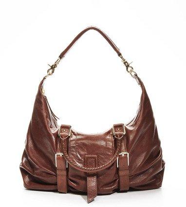 $595 Botkier SASHA medium duffle LEATHER Bag in Chocolate  NWT