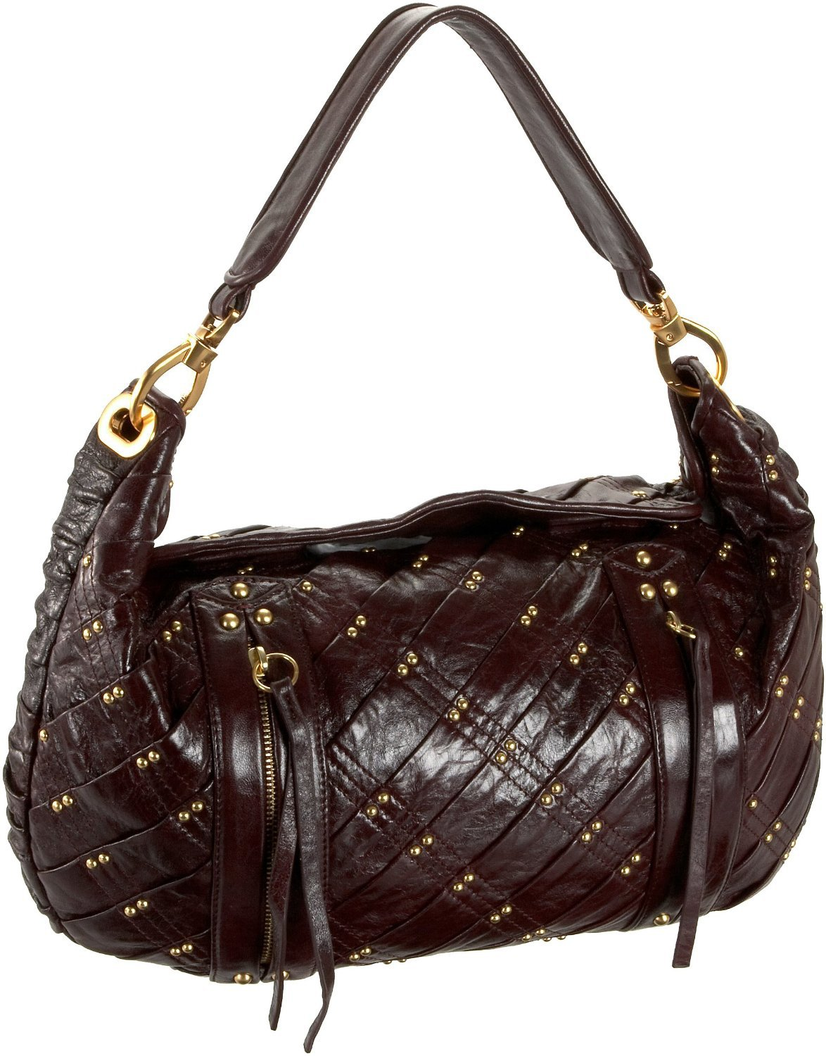 $595 -Treesje EXPOSED Mini Hobo  Bag -in Bordeaux NWT