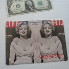 Vinyl Passport Cover / Marilyn Monroe / Personal Travel Case Holder / NEW / #2